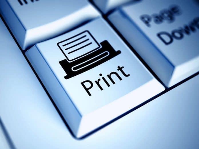 Imprimir automaticamente automator