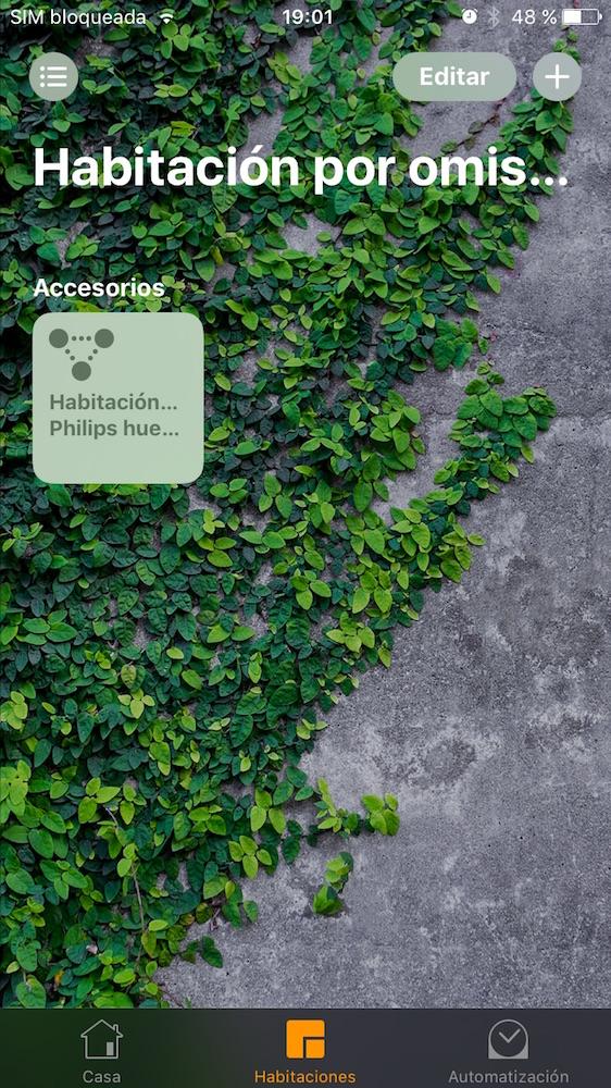 iOS 10 Home Habitaciones