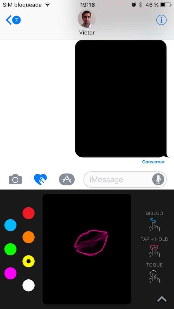 iOS 10 Mensajes 2