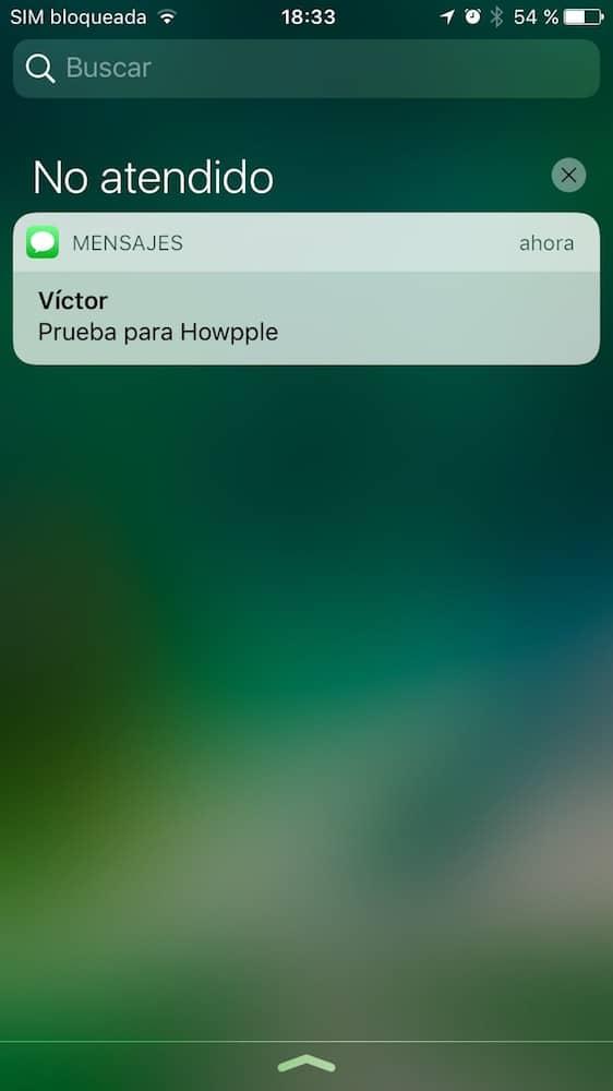 iOS 10 Pantalla Bloqueo Pendiente