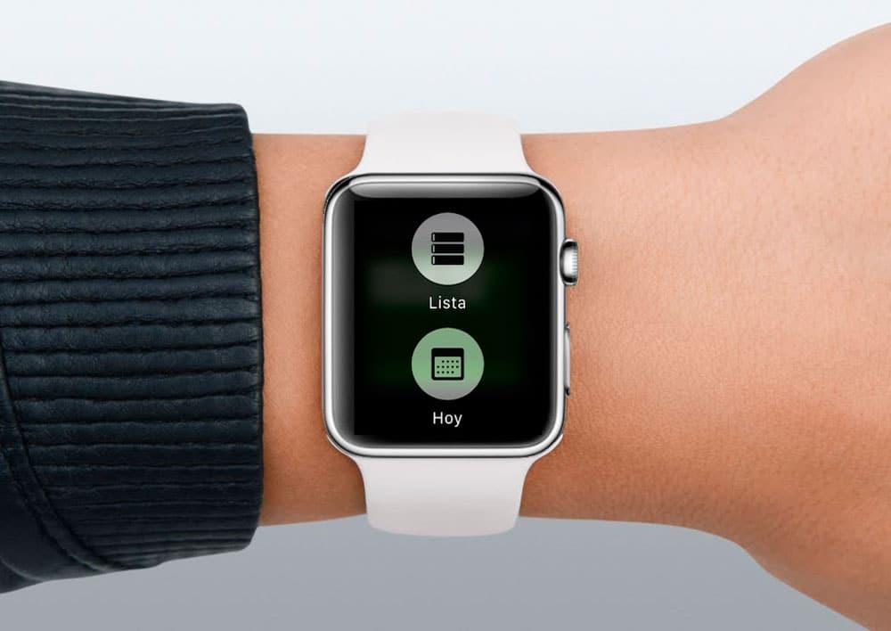 Apple Watch Lista Calendario