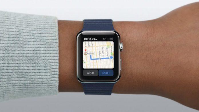 Mapas Apple watch