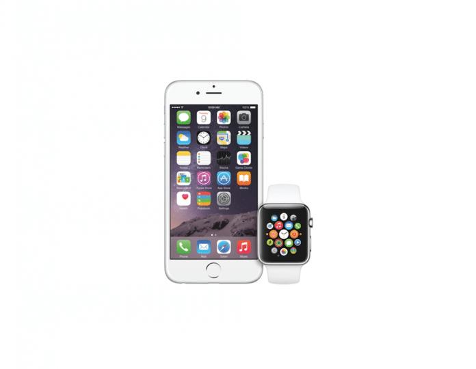 Sincronizacion iPhone Apple Watch