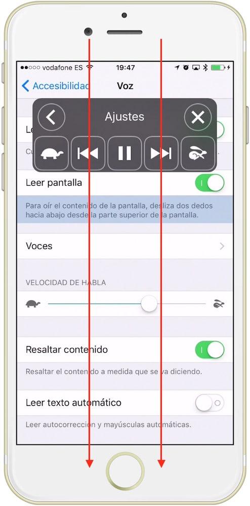 iOS Leyendo texto en pantalla-Howpple