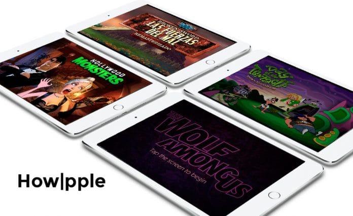 iPad Aventuras Graficas-Howpple