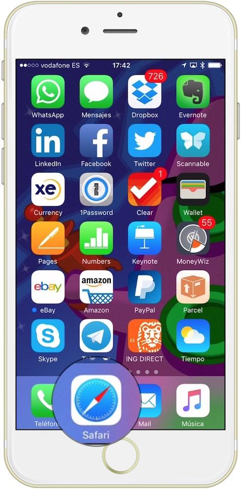 Safari Navegación privada iOS-Howpple