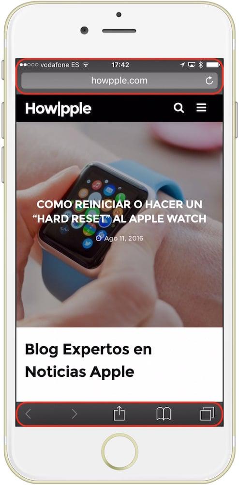 Safari Privado iOS-Howpple