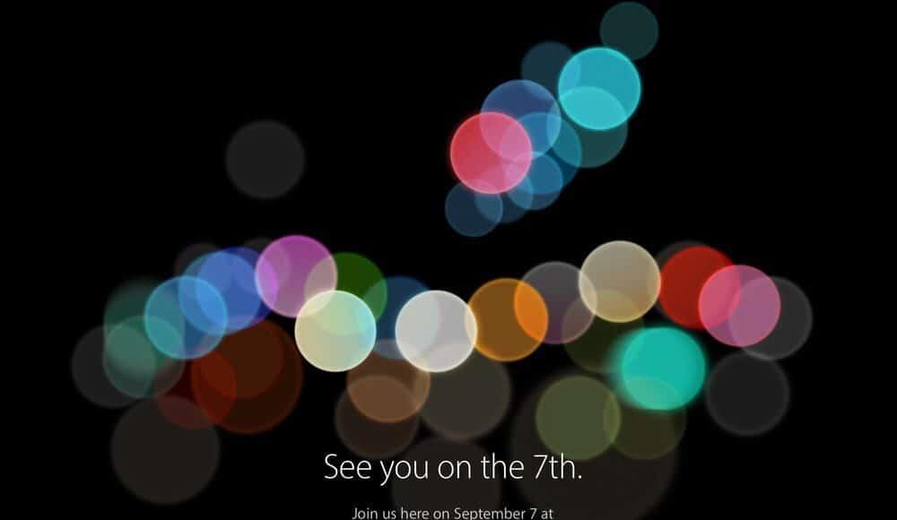 Keynote nuevo iPhone 7
