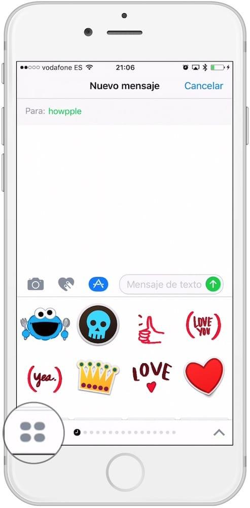 App Mensajes AppStore Gestionar-Howpple