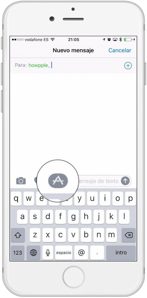 App Mensajes AppStore-Howpple