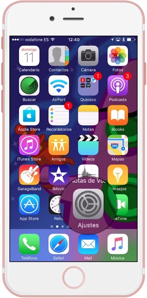 como restaurar iPhone y ipad-ajustes-howpple
