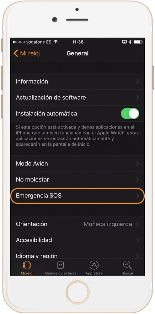 Emergencia SOS Apple Watch-howpple