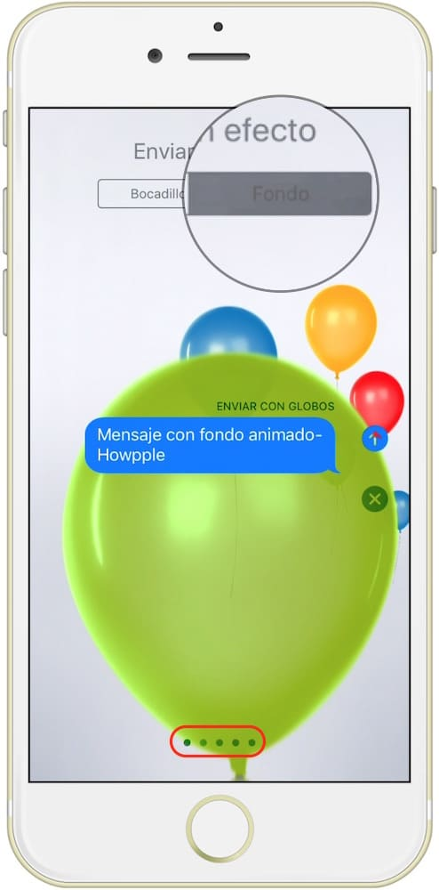 fondo-globos-mensajes-ios-10-howpple