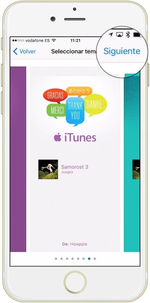 Regalar una aplicaion iOS modelo tarjeta-Howpple