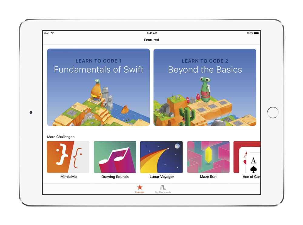 Swift Playgrounds iPad-howpple