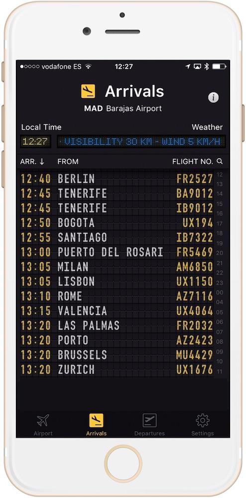 Tablero de vuelos con Flight Board y estas CUATRO aplicaciones imprescindibles para viajar