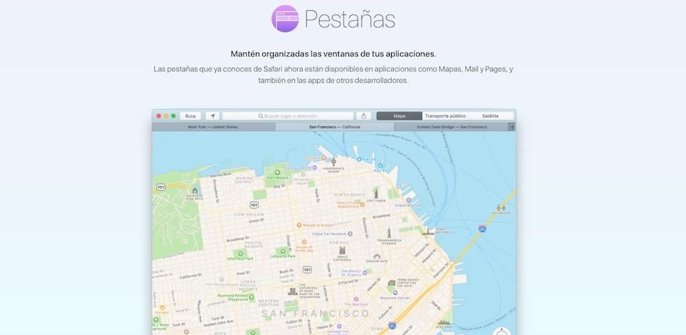 macOS Sierra pestanas-howpple