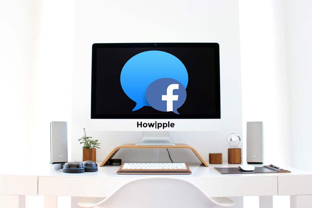 como integrar Facebook chat en mensajes de Apple-Howpple