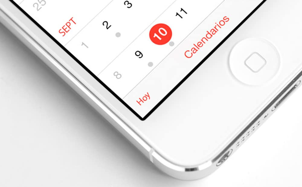Compartir Calendario iOS-howpple