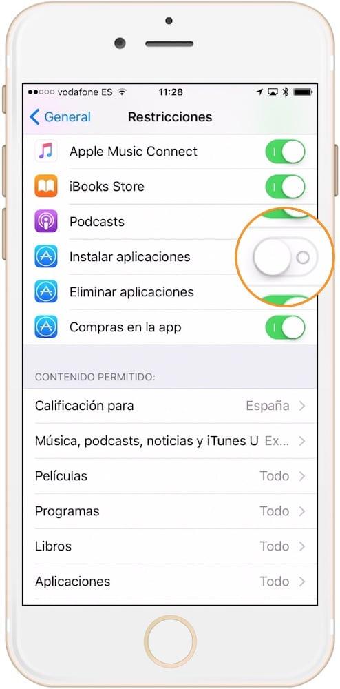 Evitar que alguien instale una aplicación iOS-Howpple
