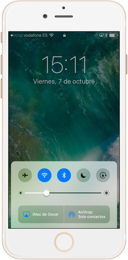 Trucos iPhone 7 acceso centro de control-Howpple