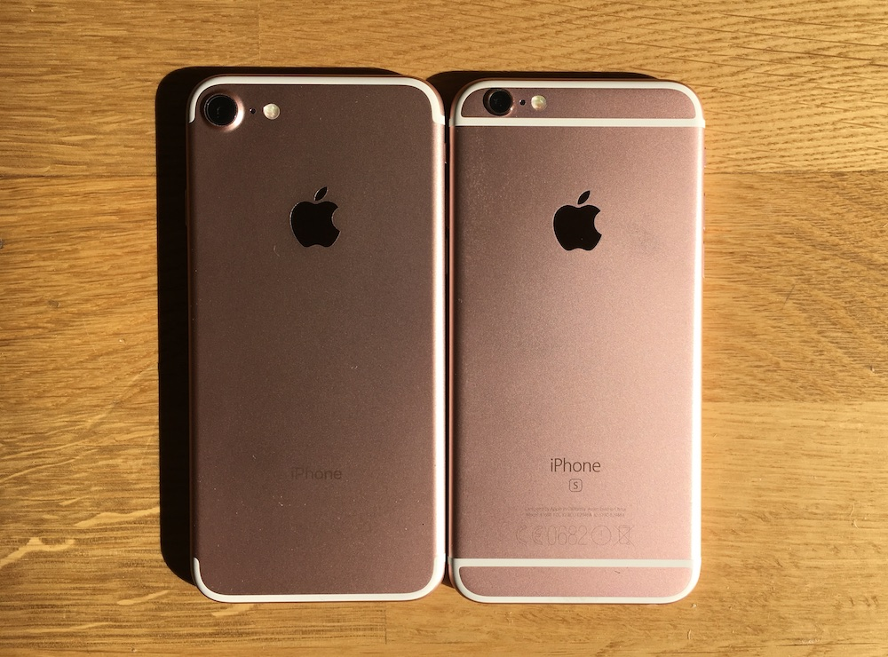 Análisis iPhone 7 VS iPhone 6S-Howpple