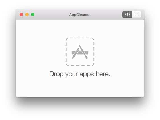 como borrar una aplicación en Mac AppCleaner-howpple