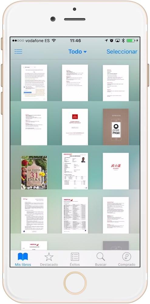 biblioteca iBooks organizada-Howpple