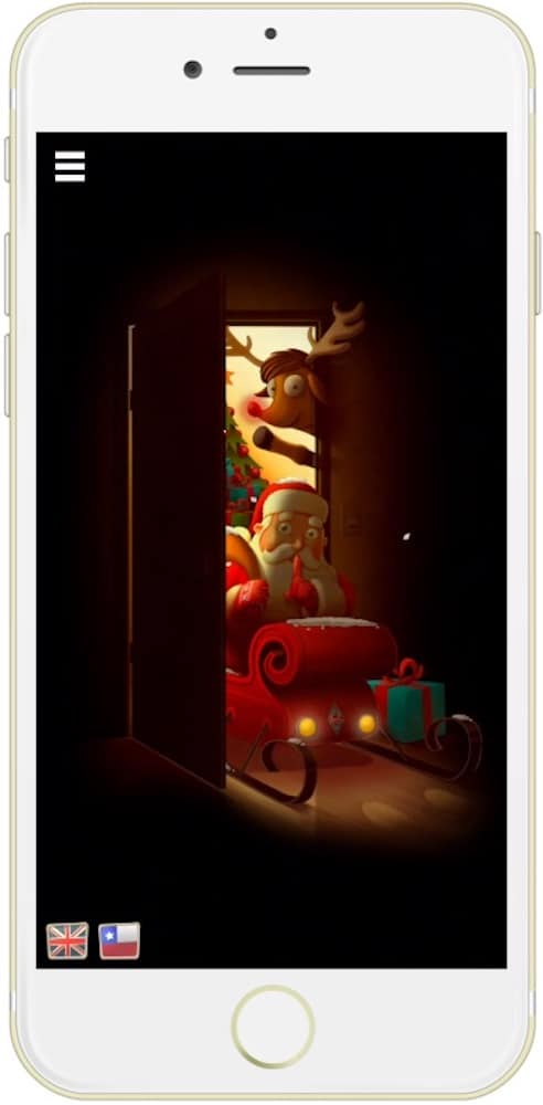 SantApp para iOS modo Papa Noel