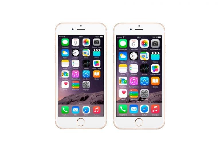 Cómo hacer los iconos más grandes en iPhone y iPad