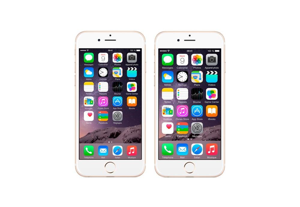 como hacer los iconos más grandes en iPhone y iPad