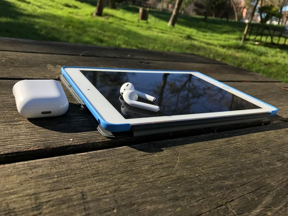 AirPods y iPad