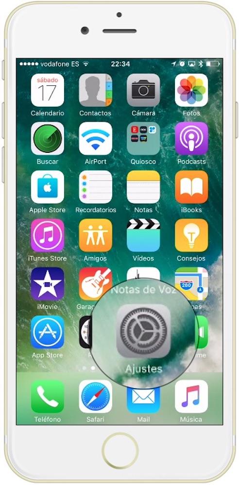 Como activar los datos en el extranjero en iPhone Ajustes