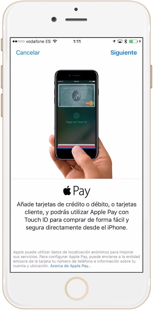 Como configurar Apple Pay en iPhone Vincular tarjeta-Howpple