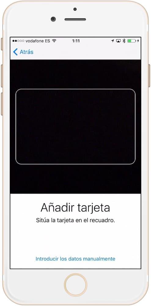 Como configurar Apple Pay escanear tarjeta en iPhone-Howpple