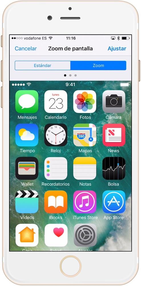 Aprende Como hacer los iconos más grandes en iPhone