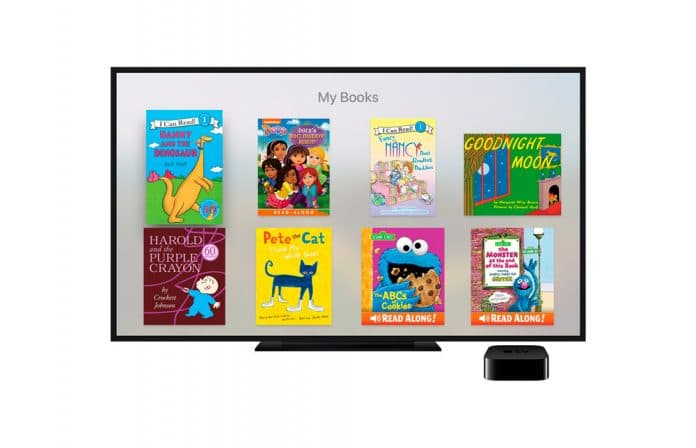Aplicación de cuentos interactivos para Apple TV iBooks StoryTime