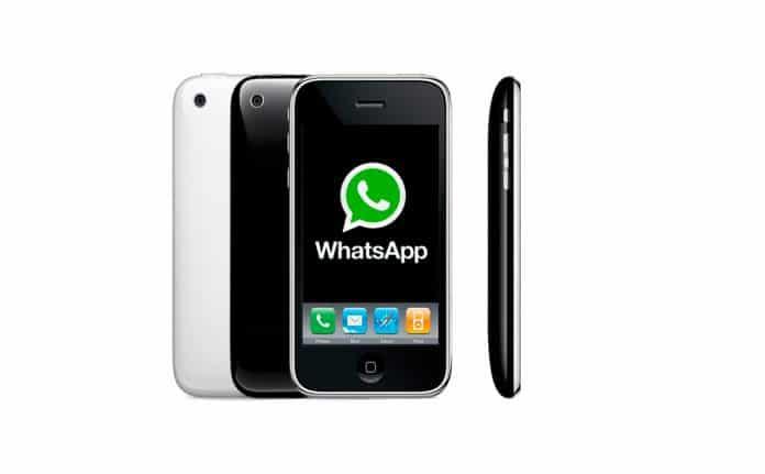 Aplicación WhatsApp en iPhone 3GS