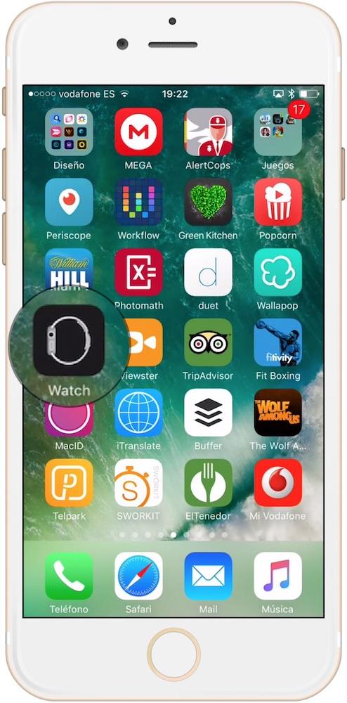 Aprende como cambiar el idioma del Apple Watch