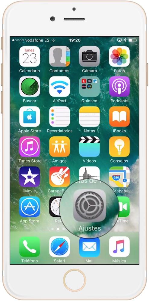 Ajustes Como cambiar el idioma del iPhone