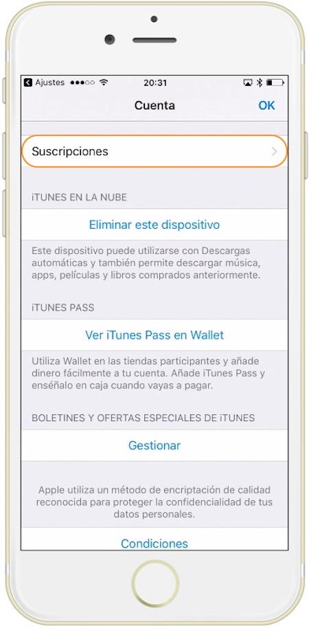 Aprende como cancelar una suscripción en iOS y macOS
