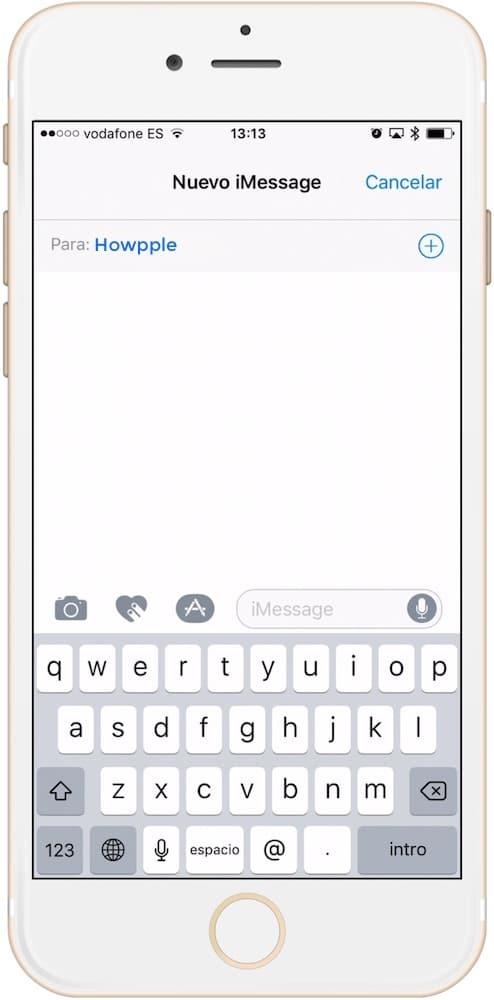 seleccionamos usuario para enviar mensaje de audio con autodestrucción