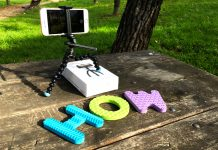 GorillaPod Video, el Tripode para iPhone