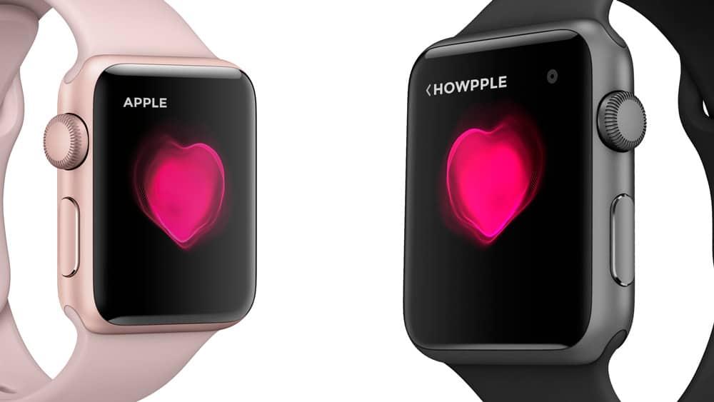 Comparte emociones con tu Apple Watch en el día de san valentin