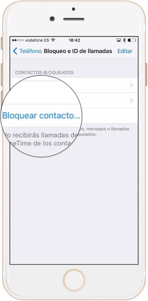 Aprende como bloquear un contacto en iOS