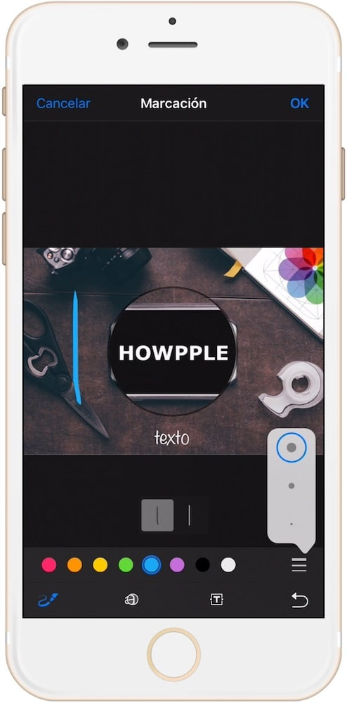 Aprende como Editar fotos en iPhone momento edición
