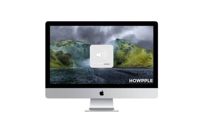 Aprende como subir el volumen con mayor precisión en Mac pulsando una tecla