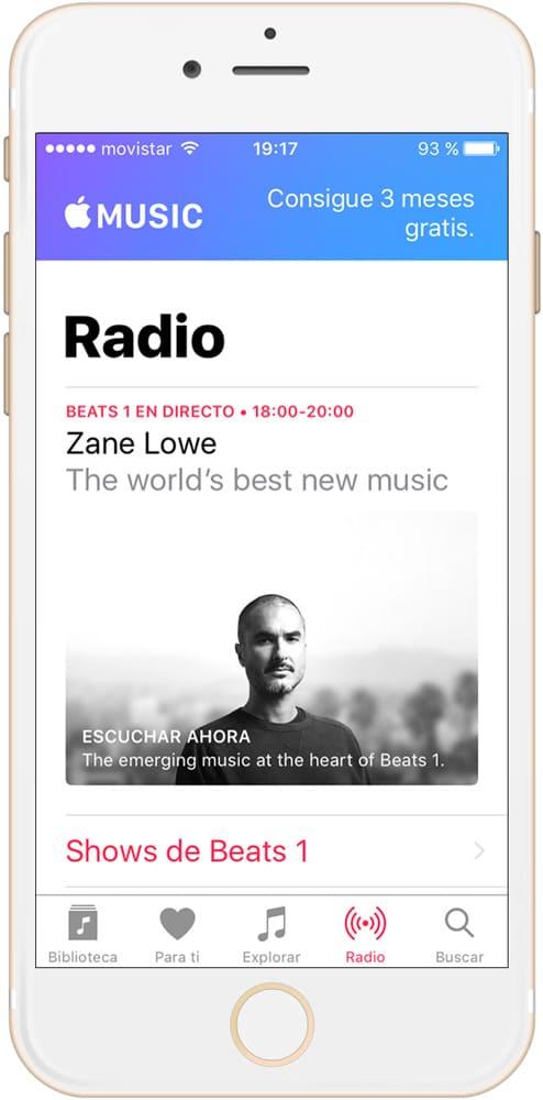 Consigue Apple Music gratis durante TRES meses