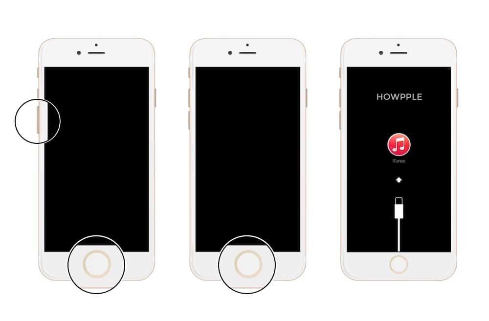 Aprende como poner un iPhone 7 en modo recuperación o DFU