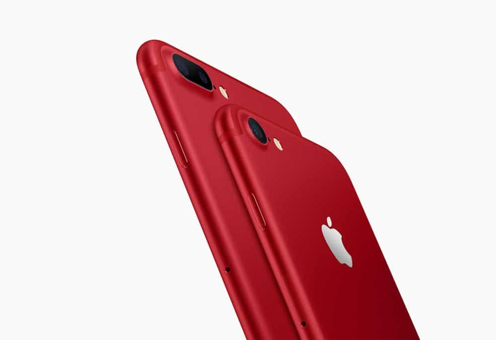 Nuevo iPhone 7 rojo (RED)